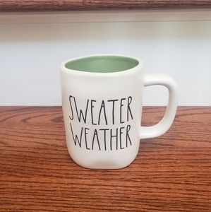 Rae Dunn SWEATER WEATHER mug
